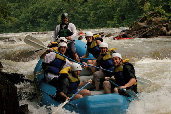 Rafting on the Ocoee by Ali